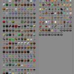 id предметов и блоков в minecraft