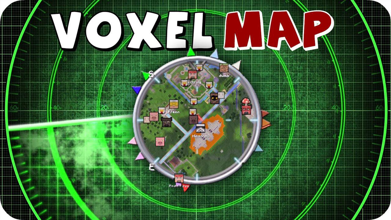VoxelMap миникарта