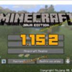 minecraft 1.15.2 скачать